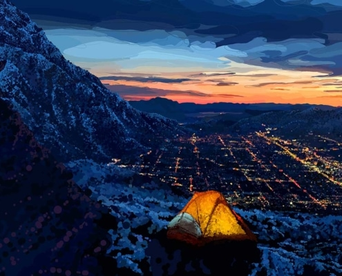 Liz Kuz Featured Artist 2020 Wasatch Mountain Film Festival